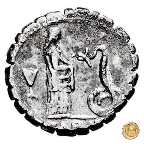 412/1 - denario L. Roscius Fabatus 64a.C. (Roma)
