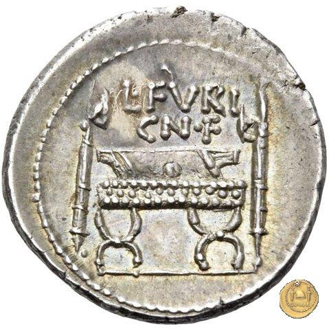 414/1 - denario L. Furius Cn.f. Brocchus 63BC (Roma)