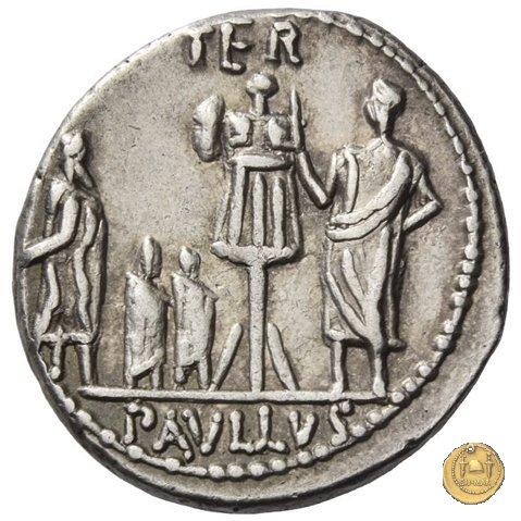 415/1 - denario L. Aemilius Lepidus Paullus 62a.C. (Roma)