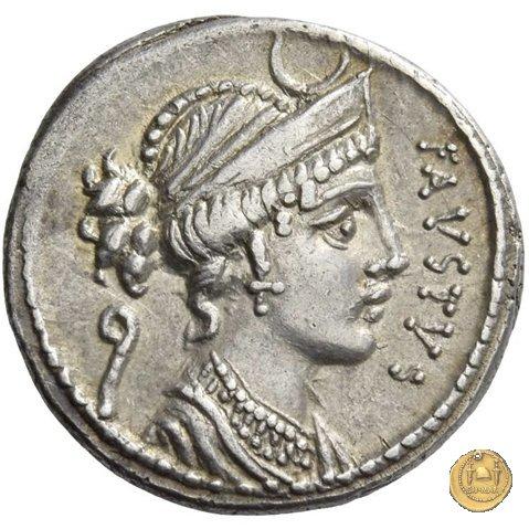 426/1 - denario Faustus Cornelius Sulla 56BC (Roma)