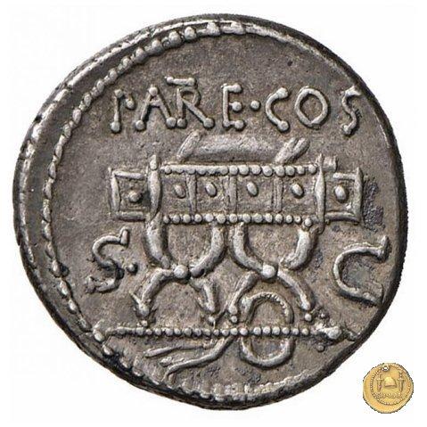 435/1 - denario M. Valerius Messalla 53BC (Roma)