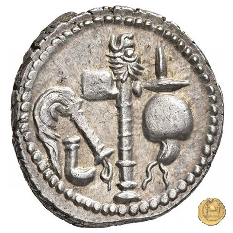 443/1 - denario C. Iulius Caesar 49-48a.C. (Itinerante con Caesar)