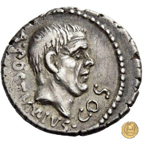 450/3 - denario D. Postumius Albinus Bruti 48a.C. (Roma)