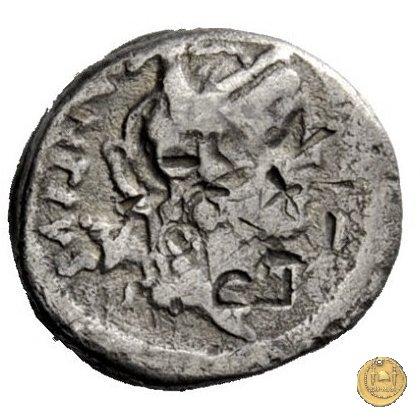 455/3 - quinario C. Antius C.f. Restio 47BC (Roma)
