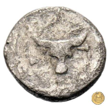 455/4 - sesterzio C. Antius C.f. Restio 47a.C. (Roma)