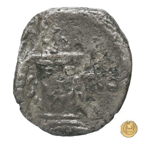 455/5 - sesterzio C. Antius C.f. Restio 47a.C. (Roma)