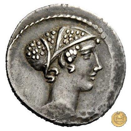 464/1 - denario T. Carisius 46BC (Roma)