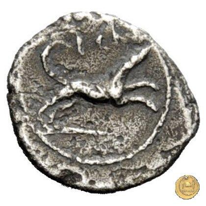464/8 - sesterzio T. Carisius 46BC (Roma)