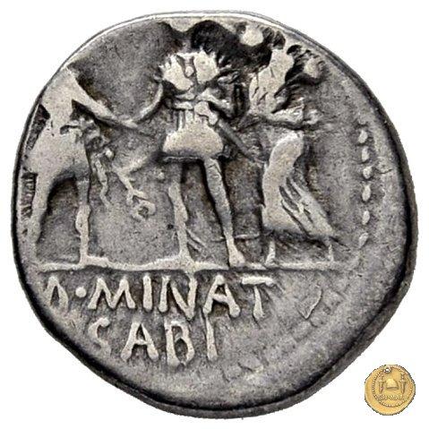 470/1d - denario Cn. Pompeius / M. Minatius Sabinus 46-45a.C. (Spagna)