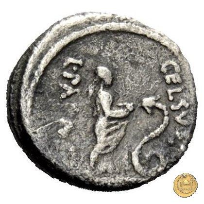 472/3 - quinario L. Papius Celsus 45BC (Roma)