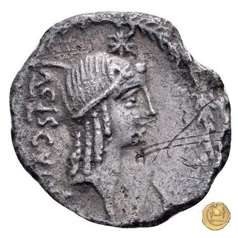 474/2 - denario L. Valerius Acisculus 45a.C. (Roma)