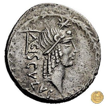 474/2 - denario L. Valerius Acisculus 45BC (Roma)