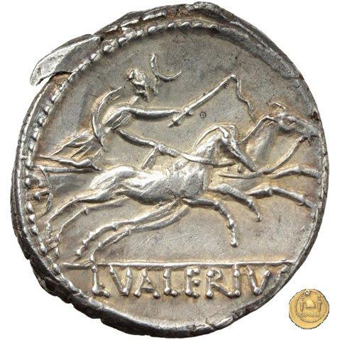 474/5 - denario L. Valerius Acisculus 45a.C. (Roma)
