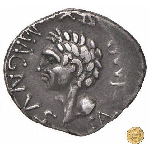 477/2 - denario Sex. Pompeius Magnus Pius 45-44BC (Spagna)