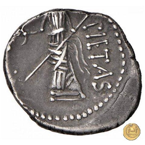 477/2 - denario Sex. Pompeius Magnus Pius 45-44a.C. (Spagna)