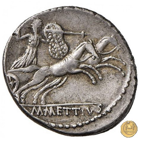 480/2 - denario C. Iulius Caesar / M. Mettius 44a.C. (Roma)