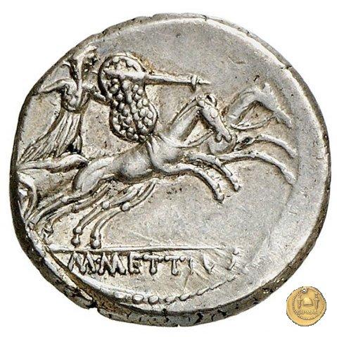 480/2 - denario C. Iulius Caesar / M. Mettius 44BC (Roma)