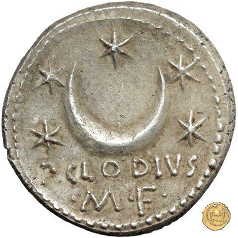 494/21 - denario P. Clodius M.f. 42a.C. (Roma)