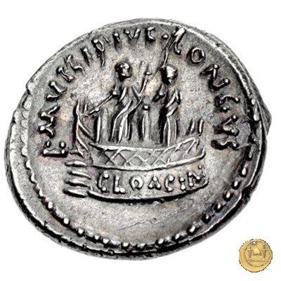 494/42 - denario L. Mussidius T.f. Longus 42BC (Roma)