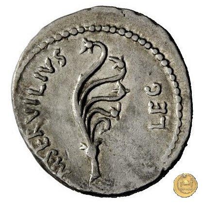 505/2 - denario C. Cassius Longinus / M. Servilius C.f. 43-42BC (Itinerante con Cassius)