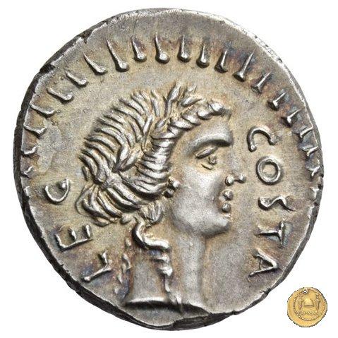 506/2 - denario M. Iunius Brutus / Pedanius Costa 43-42a.C. (Itinerante con Brutus)