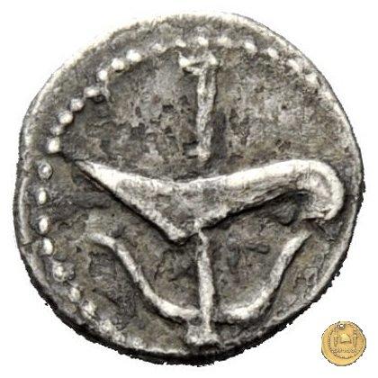 506/3 - quinario M. Iunius Brutus 43-42BC (Itinerante con Brutus)