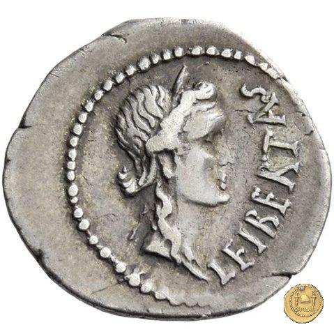 506/3 - quinario M. Iunius Brutus 43-42a.C. (Itinerante con Brutus)