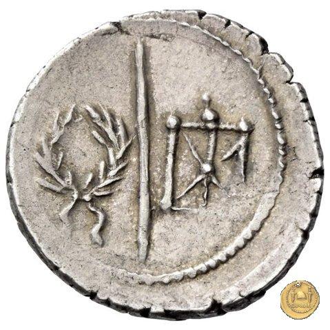 513/2 - denario M. Arrius Secundus 41BC (Roma)
