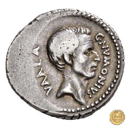 514/2 - denario C. Numonius Vaala 41a.C. (Roma)