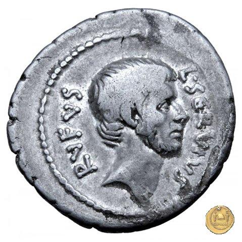 515/2 - denario L. Servius Rufus 41BC (Roma)