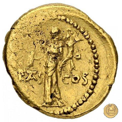 516/4 - aureo M. Antonius 41a.C. (Itinerante con M. Antonius)