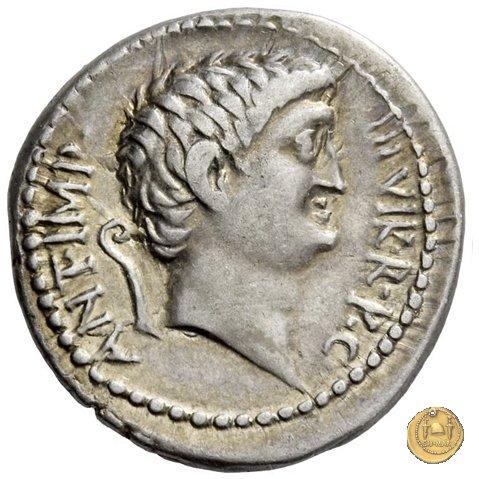 521/2 - denario M. Antonius / Cn. Domitius Ahenobarbus 40a.C. (Itinerante con M. Antonius)