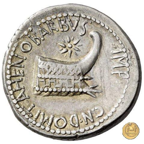 521/2 - denario M. Antonius / Cn. Domitius Ahenobarbus 40BC (Itinerante con M. Antonius)