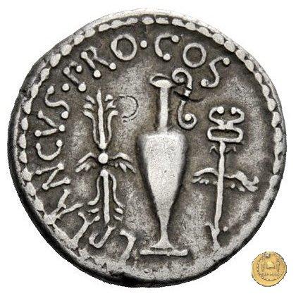 522/2 - denario M. Antonius / L. Munatius Plancus 40BC (Itinerante con M. Antonius)