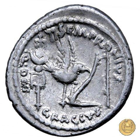 525/4 - denario Ti. Sempronius Gracchus 40a.C. (Roma)