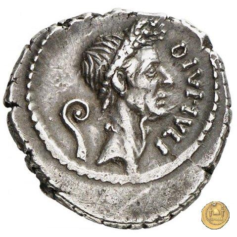 526/2 - denario Q. Voconius Vitulus 40a.C. (Roma)