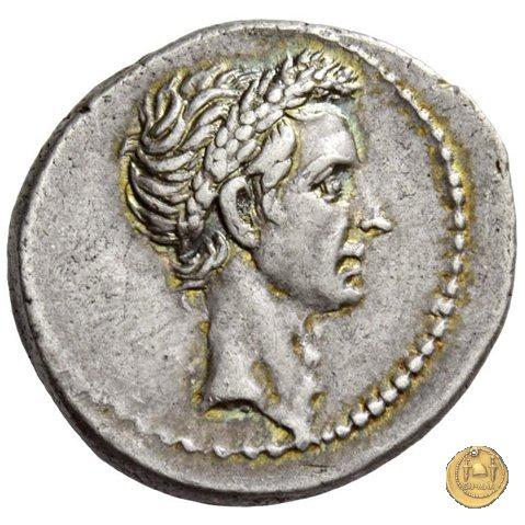 526/4 - denario Q. Voconius Vitulus 40a.C. (Roma)