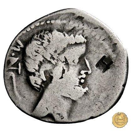 531/1 - denario M. Antonius / P. Ventidius Bassus 39BC (Est)