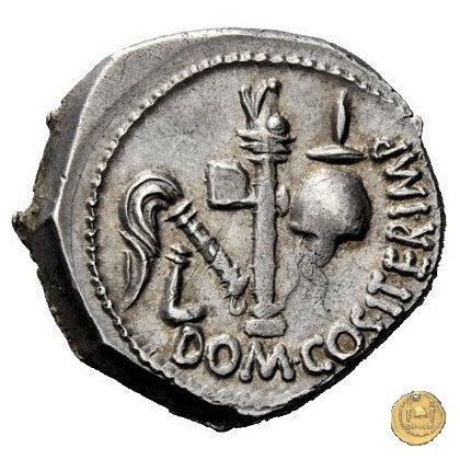 532/1 - denario Cn. Domitius M.f.M.n. Calvinus 39BC (Osca)