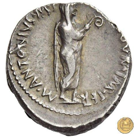 533/2 - denario M. Antonius 38a.C. (Itinerante con M. Antonius)
