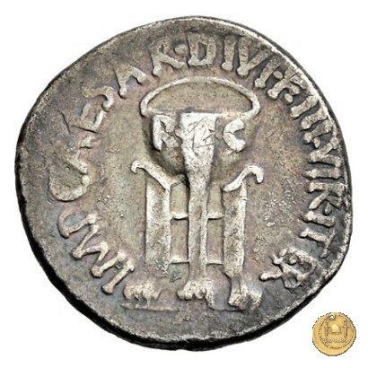 538/2 - denario C. Iulius Caesar Octavianus 37a.C. (Itinerante con Octavianus)