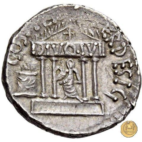 540/2 - denario C. Iulius Caesar Octavianus 36a.C. (Itinerante con Octavianus)