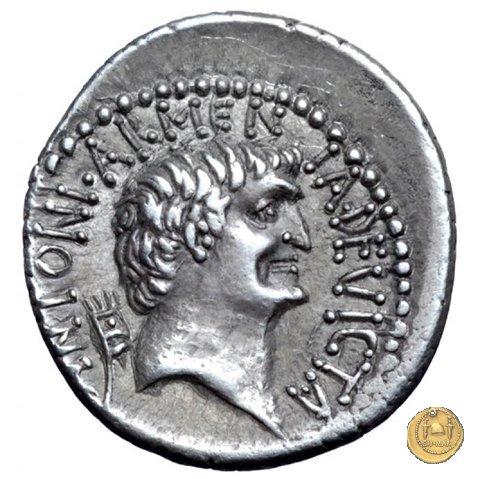 543/1 - denario M. Antonius / Cleopatra 32a.C. (Itinerante con M. Antonius)