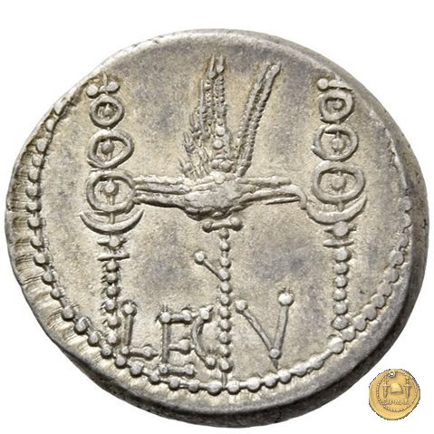 544/18 - denario LEG. V (legionis quintae) 32-31a.C. (Itinerante con M. Antonius)