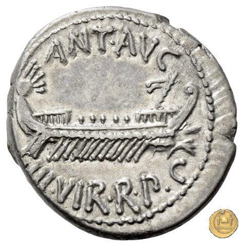 544/19 - denario LEG. VI (legionis sextae) 32-31a.C. (Itinerante con M. Antonius)