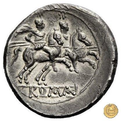 62/1 - rostro di nave (rostrum tridens) 211-208BC (Italia Centrale)