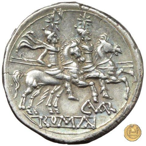 74/1 - denario C. Terentius Varro 209-208a.C. (Sicilia)