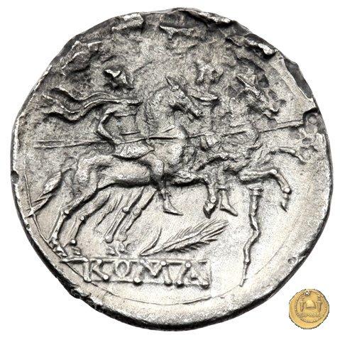 77/1 - spiga di grano e bastone (corn-ear and crooked staff) 209-208a.C. (Sicilia)