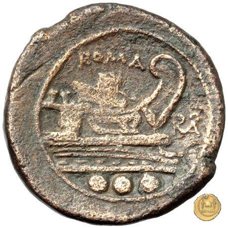 84/6 - quadrante 211-210a.C. (Italia Sud Est)
