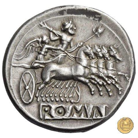 didramma o quadrigato 225-212BC (Roma)